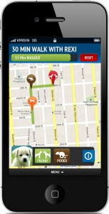 iphone dog walking tracking mobile app